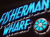 Fishermans Wharf Backlit Channel Letters & Logo