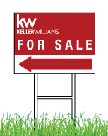 Keller Williams Signs | Keller Williams Real Estate light weight Directional Signs
