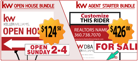 Keller Williams Real Estate starter kits