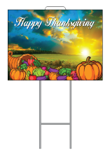 Thanksgiving Yard sign frame2