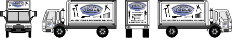 Premium Box Truck Graphics | Gradients and More!
