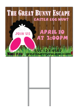 easter Yard sign frame 2019