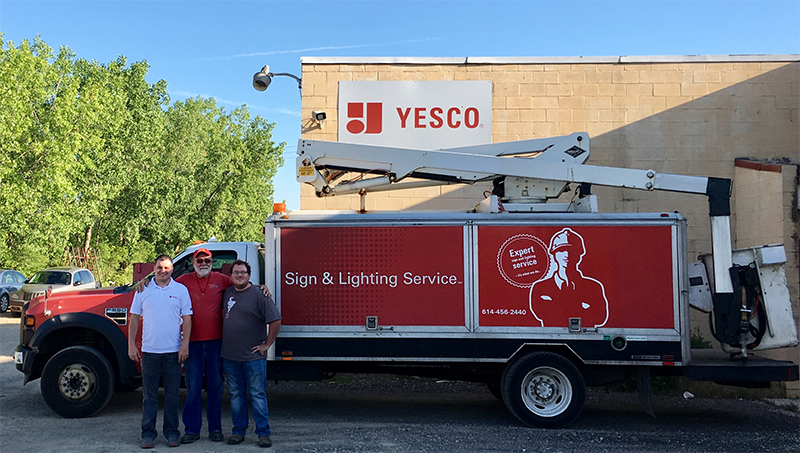 YESCO & Custom Sign Center Partner to Keep Ohio Signs Shining Brightly