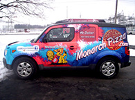 Customized Vehicle Graphics!