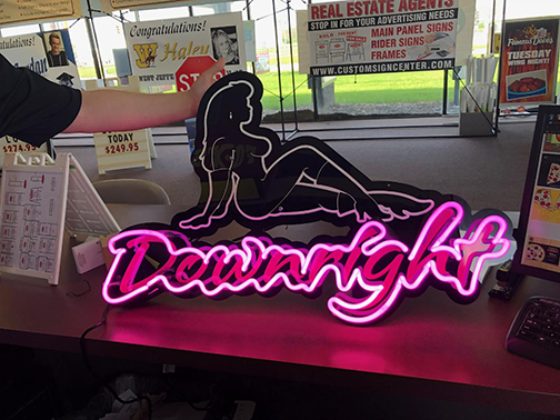 Downright Clothing, LLC NEON Sign