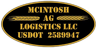 McIntosh AG Logistics Oval Magnet