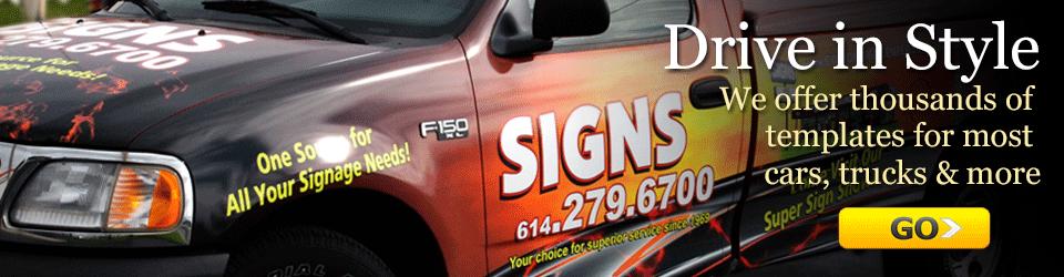 Ohio Commercial Sign Company Custom Vinyl Plastic Metal