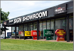 Custom Sign Center's Super Sign Showroom (Columbus, OH)