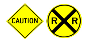 road safety signs warning signs