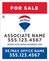 "RE/MAX® Vertical 30""h X  24""wTemplates"
