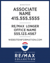 "RE/MAX® Collection Vertical 30""h X 24""w"