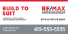 RE/MAX® Commercial Signs