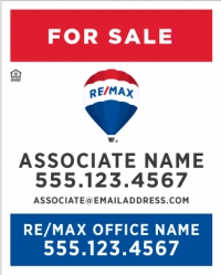 RE/MAX® Vertical Standard Main Panel