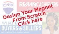 RE/MAX® Blank Magnetic Sign