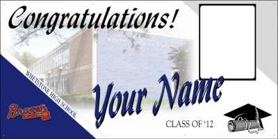 Whetstone High School Grad Banner