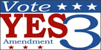 Vote on Amendment Political Banner