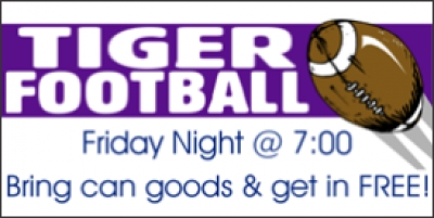 Football Friday Night Sports Banner