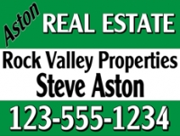 "Independent Realtor 18""x24"" Double-Sided Aston Real Estate Sign"