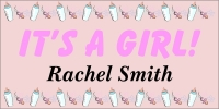 It's A Girl Baby Banner 2