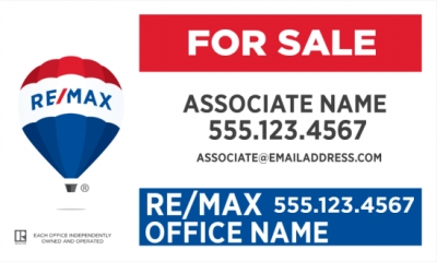 RE/MAX Horizontal Office Prominent Main Panel