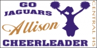 Cheerleading Name Here Sports Banner