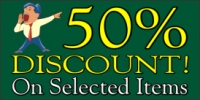 Percentage Discount Banner