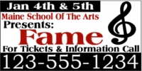 School of the Arts Banner