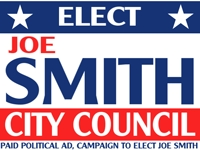 Political Yard Sign 7