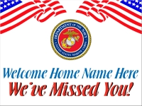 Marines Welcome Home