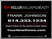 Keller Williams Black Real Estate Panel 18 x 24