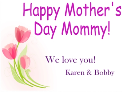 Mother's Day Yard Sign-2