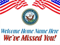 Navy Welcome Home