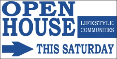 Community Open House Event Banner