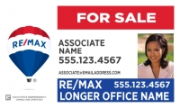 RE/MAX® Horizontal Office Prominent w/ Photo