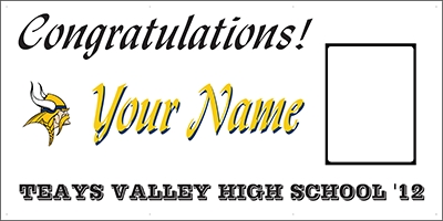 Teays Valley High School Grad Banner