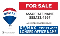 RE/MAX® Horizontal Office Prominent Main Panel Longer Office Name | Frame Included