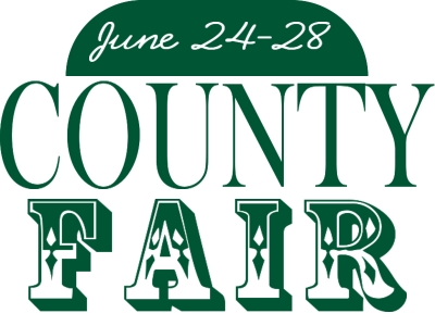 County Fair Yard Sign with Dates indicated at the top