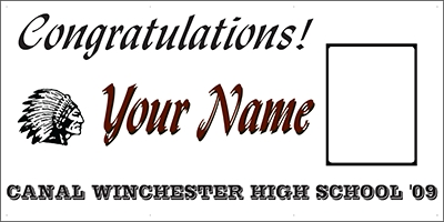 Canal Winchester High School Banner Template