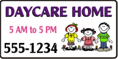 Home Day Care Banner