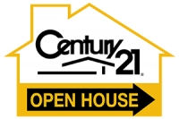 CENTURY 21 House Shaped 'Open House' Directional 12