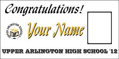 Upper Arlington High School Grad Banner