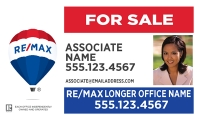 RE/MAX® Horizontal Standard w/ Photo | Frame Included