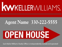 Keller Williams Realty OPEN HOUSE Sign