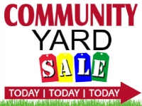 Yard Sale Yard Sign | Wooden Sign