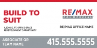 RE/MAX® Commercial Standard Design 48