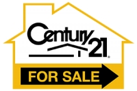 CENTURY 21 House Shaped 'For Sale' Directional 12