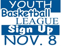Basketball Youth League Yard Sign