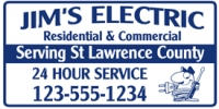 Residential & Commercial Electric Business Banner