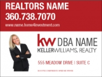 Keller Williams Red and White Real Estate New Standard Panel 18