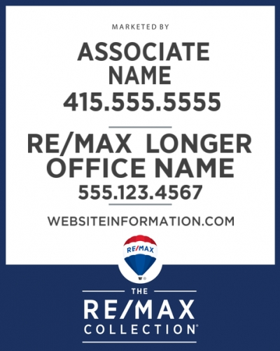 RE/MAX Collection Main Panel Office Prominent with Longer Office Name